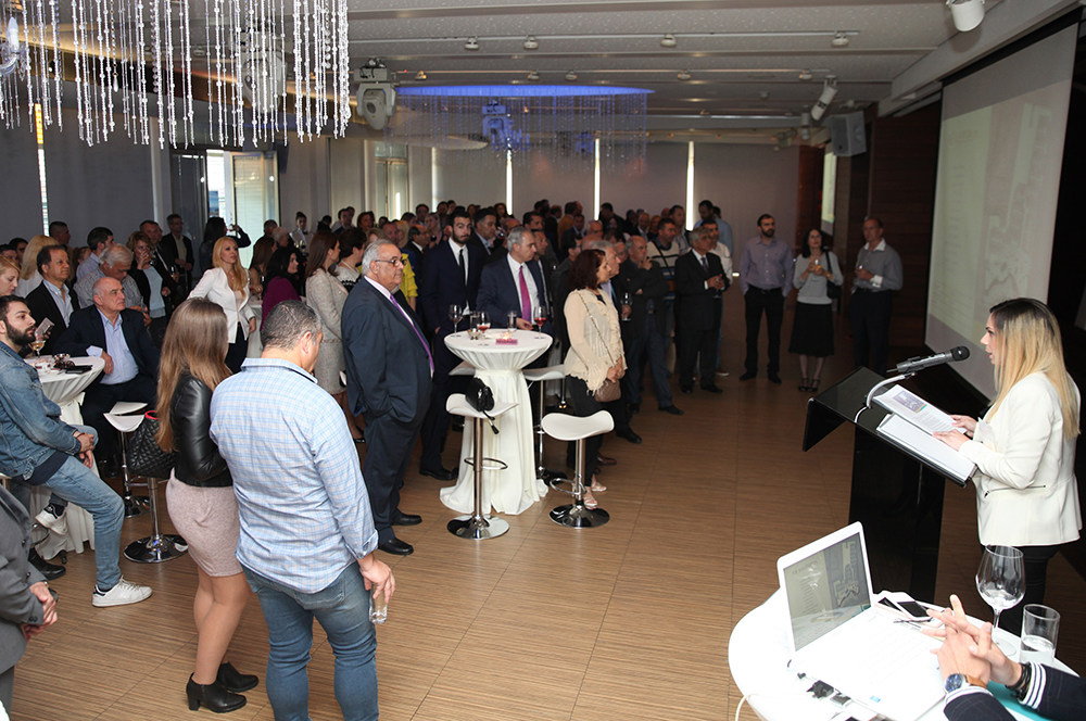 Marketing Executive, Ms Eleftheria Voskaridou presented the project to the guests.jpg